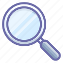 lense, search, tool icon