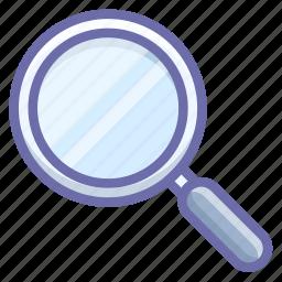 lense, search, tool icon