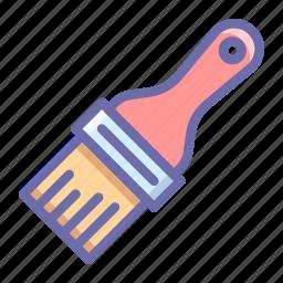 brush, paint, tool icon