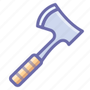 axe, hatchet icon