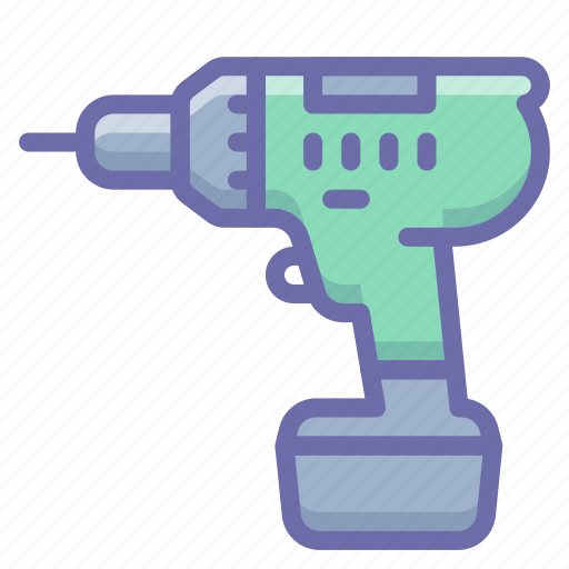 Cordless, drill icon - Download on Iconfinder on Iconfinder