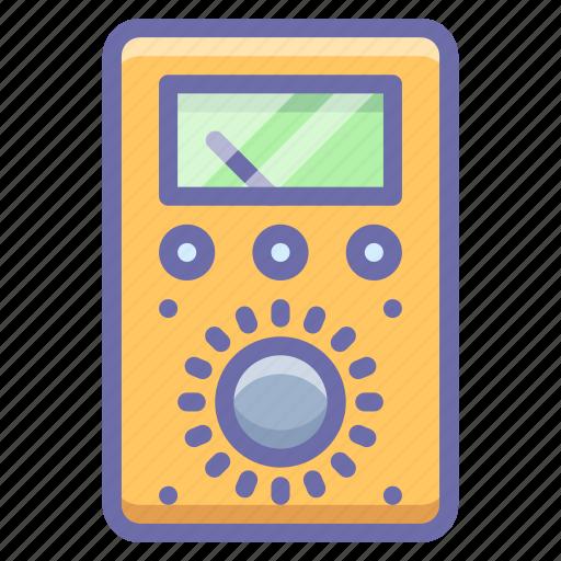amper, meter, voltmeter icon