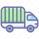 delivery, lorry, transport, truck icon