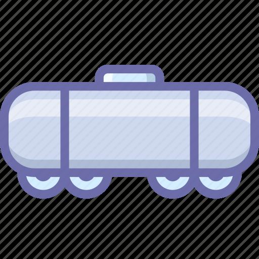railroad, tank, vehicle icon
