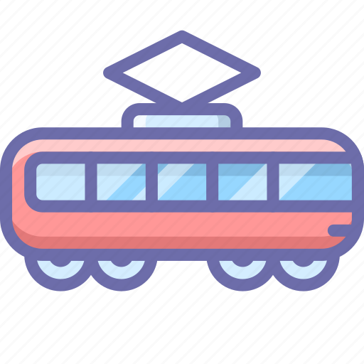 railroad, tramway, transport icon