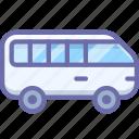 minibus, transport icon