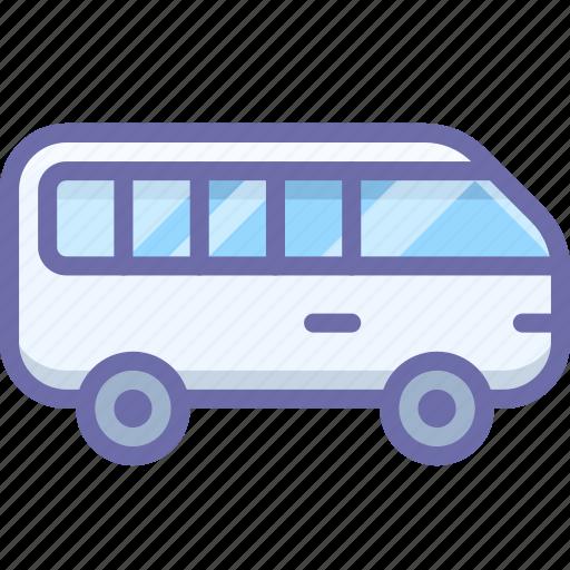 Minibus, transport icon - Download on Iconfinder