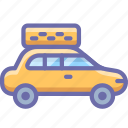 car, taxi, transport icon