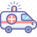 car, ambulance, hospital