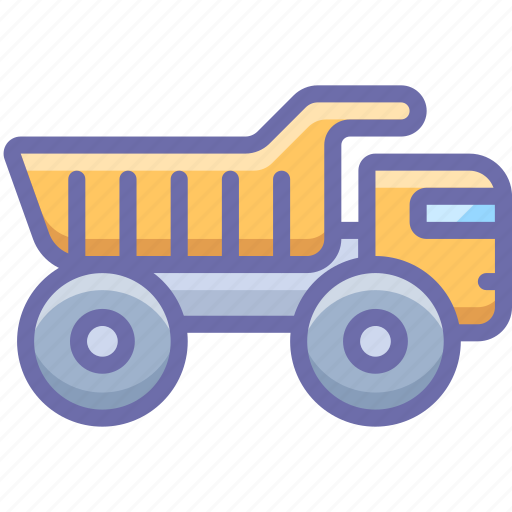 haul, industrial, truck icon