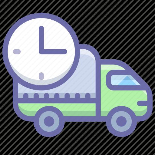 delivery, logistics, rush, truck icon