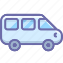 car, minivan, vehicle icon
