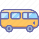bus, combi, van, vehicle icon