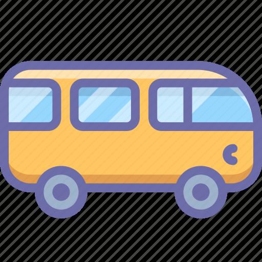 bus, combi, van, vehicle icon