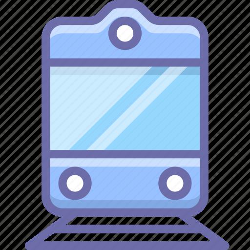 railway, transport icon