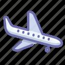 landing, plane