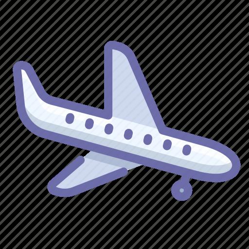 landing, plane icon
