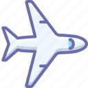 flight, plane icon
