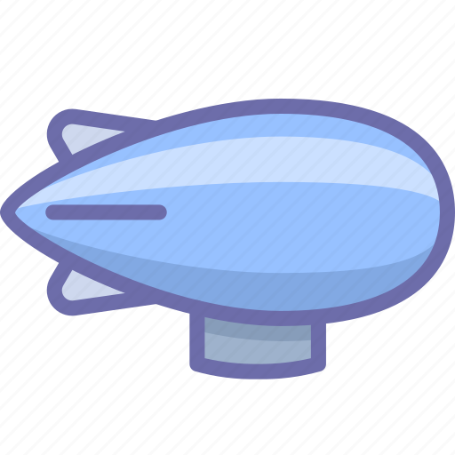 Airship, zeppelin icon - Download on Iconfinder