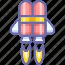 jet, jetpack icon