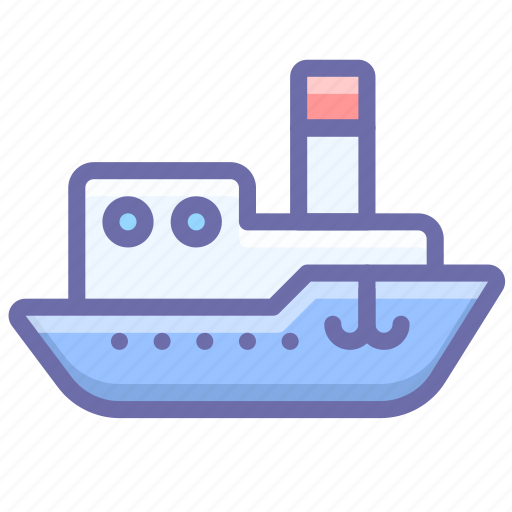 Ship, steamboat, steamship, vessel icon - Download on Iconfinder