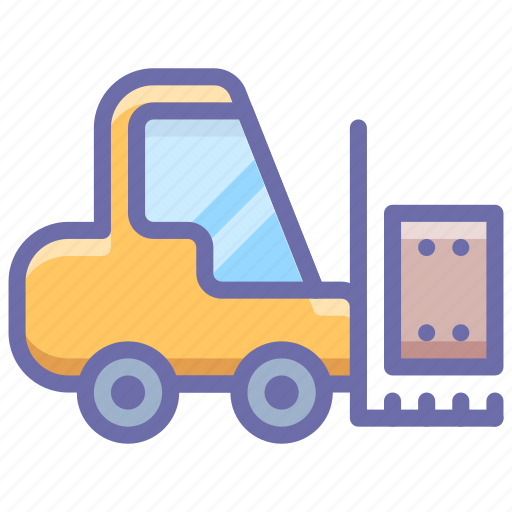 Equipment, forklift, industrial, logistic icon - Download on Iconfinder