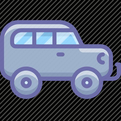 car, jeep, offroad icon