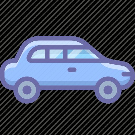 car, sedan icon