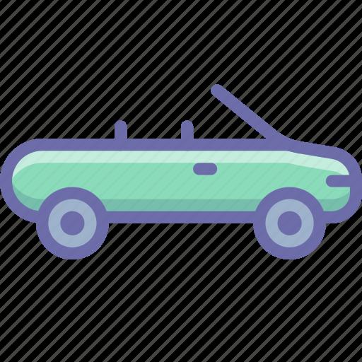 Cabriolet, car icon - Download on Iconfinder on Iconfinder