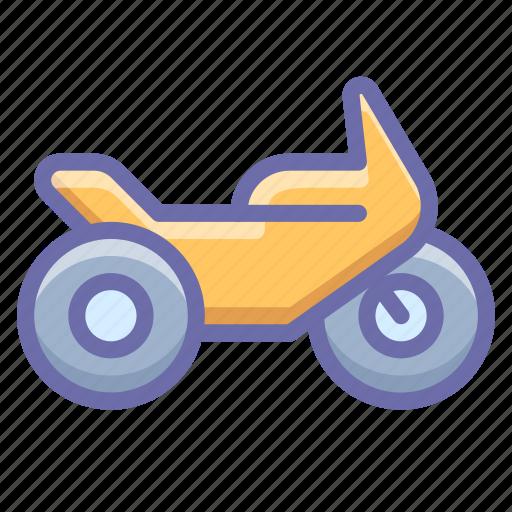 motorbike, motorcycle, transport icon