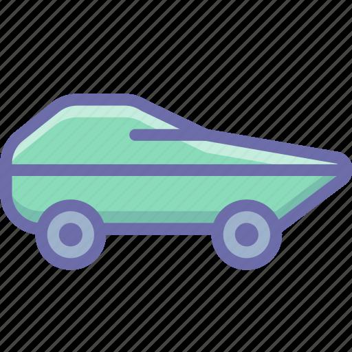 amphibious, military, vehicle icon