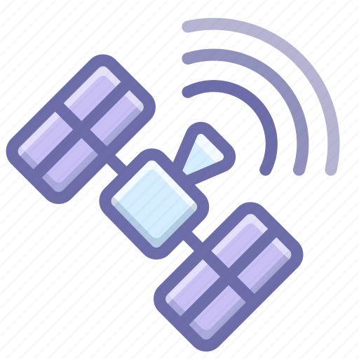 Gps, satellite, signal, space icon - Download on Iconfinder