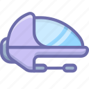 spaceship, space icon