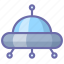 space, ufo icon