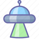 abduction, space, ufo, xfiles icon