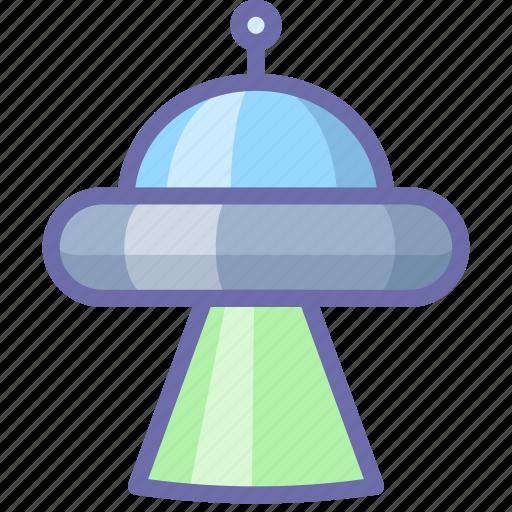 abduction, space, ufo icon