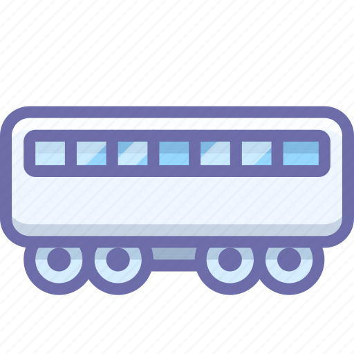 passenger, railway, train icon