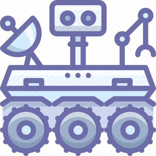 Curiosity, mars, robot, rover, space icon - Download on Iconfinder