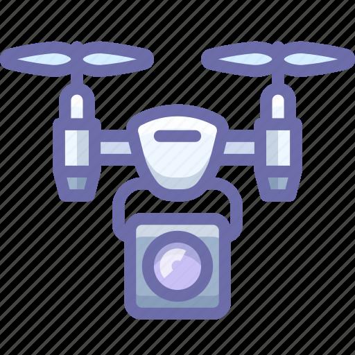 airdrone, camera, quadcopter, spy icon