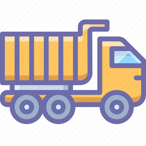 construction, truck, vehicle icon