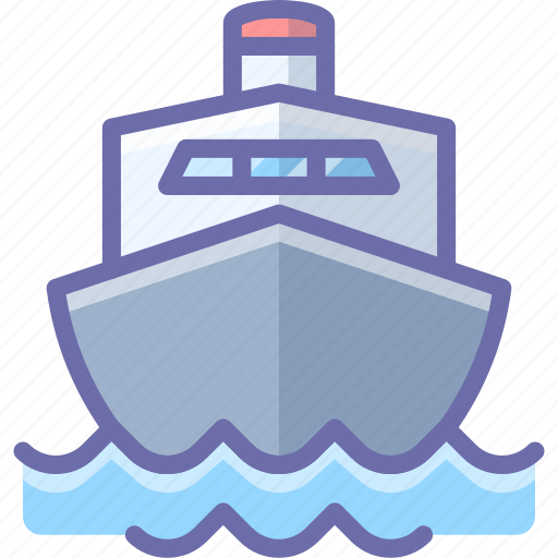 Boat, cruise, ship, transport icon - Download on Iconfinder