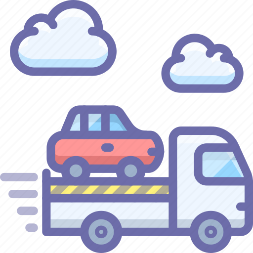 car, tow, transport, truck icon