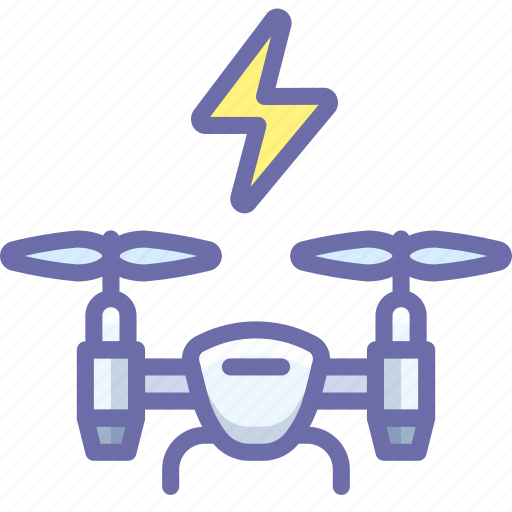 copter, drone, power icon