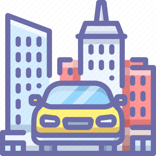 Car, city, transport icon - Download on Iconfinder