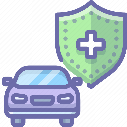 car, insurance, security icon