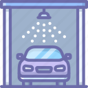 car, service, wash icon