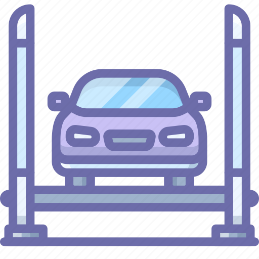 car, repair, service icon