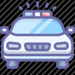 car, emergency, police icon