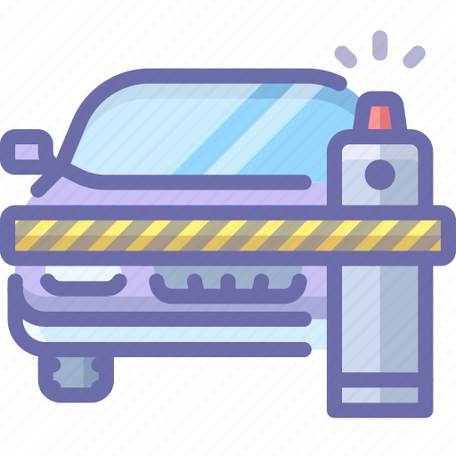 barrier, car, closed icon