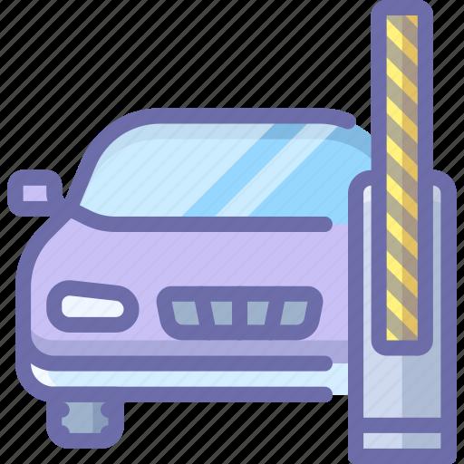 barrier, car, open icon